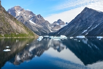 Summer Morning in Prince Christian Sound Greenland  Photo By Elisabeth Beyer