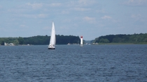 Summer sailing on Presquile Bay Brighton ON