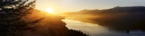 Summer sunrise in the Columbia Gorge OR