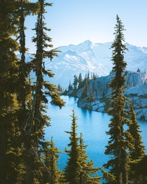 Summertime in the Cascade Mountains aka heaven on Earth Washington State