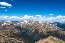 Summit of the second tallest mountain in the connecting United States Its also the tallest mountain in Colorado at  ft MtElbert