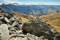 Summiting the Ben Lomond Queenstown Otago New Zealand