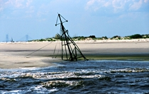 Sunken Shrimp Boat Being Swallowed by the Sand by Troup Nightingale  album in comments