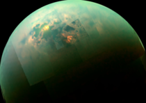 Sunlit Seas on Titan