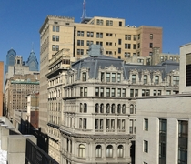 Sunnier View down Chestnut Street Philadelphia