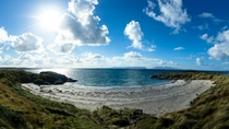 Sunny beach - Morar Scotland Shame the waters cold
