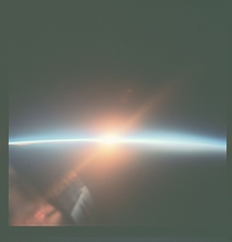 Sunrise as viewed from the Gemini VII December th