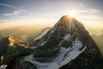 Sunrise at Albertas Rockies Photo by Chris Burkard