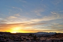 Sunrise at Arches National Park - Utah