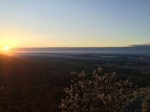 Sunrise at Bake Oven Knob Germansville PA