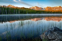 Sunrise at Bierstadt Lake RMNP   X