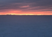 Sunrise at Bonneville Salt Flats Utah