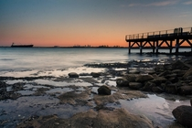 Sunrise at Botany Bay Australia