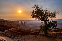 Sunrise at Canyonlands National Park in Utah  OC