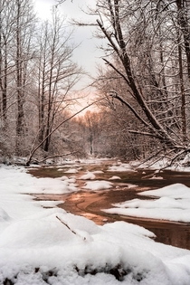 Sunrise at Cuyahoga Valley National Park