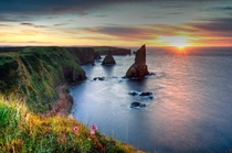 Sunrise at Duncansby Stacks Caithness Scotland