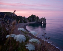 Sunrise at Durdle Door Dorset England