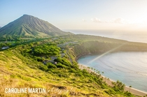 Sunrise at Hanauma Bay Hawaii  by Caroline Martin