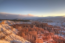 Sunrise at Inspiration Point Bryce Canyon National Park