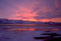 Sunrise at Kleifarvatn Iceland