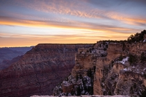 Sunrise at Mathers Point Southern Rim Grand Canyon x