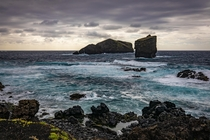 Sunrise at Ponta do Castelo in Mosteiros So Miguel Island Azores
