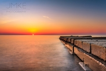 Sunrise at Sheridan Park Milwaukee WI -