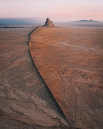 Sunrise at Shiprock NM  - Instagram jonnyhill_uk