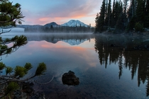 Sunrise at Sparks Lake