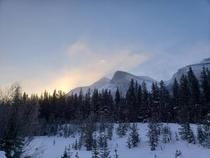 Sunrise at Stephen Yoho national park BC Canada  x