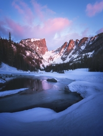 Sunrise Dreams Rocky Mountain National Park Colorado