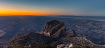 Sunrise from Guadalupe Peak TexasOC