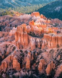 Sunrise from Inspiration Point Bryce Canyon National Park UT