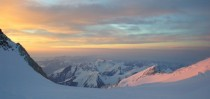 Sunrise from Mount McKinley Pass