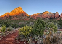 Sunrise hike Sedona Arizona