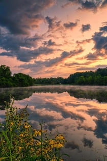 Sunrise in Cuyahoga Valley National Park