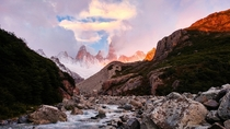 Sunrise in Patagonia