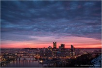 Sunrise in Pittsburgh  x-post from rpittsburgh