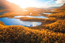 Sunrise in Swedish Lapland  by marcograssiphotography