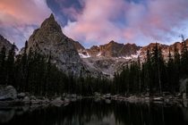 Sunrise in the Indian Peaks Wilderness CO