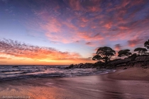 Sunrise in the South West WA oc davidashleyphotos x