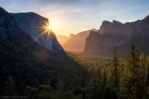 Sunrise in Yosemite the day before I got married there last week