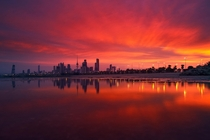 Sunrise  Kuwait City Kuwait  Photographed by Mohammed ALSULTAN