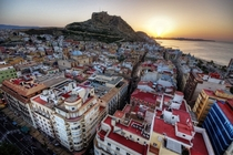 Sunrise on Alicante