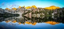 Sunrise on Alice Lake Sawtooth Wilderness Idaho by Matthew Durrant