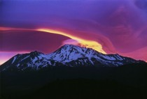 Sunrise on Mount Shasta