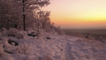 Sunrise on the Appalachian Trail Kittatinny Mountain New Jersey