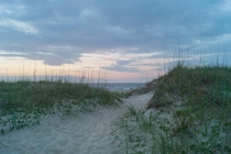 Sunrise on the Dunes Outer Banks NC