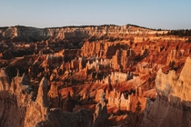 Sunrise over Bryce Canyon National Park is still one of the most surreal moments Ive ever experienced