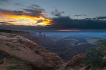 Sunrise over Mesa Arch - Canyonlands National Park